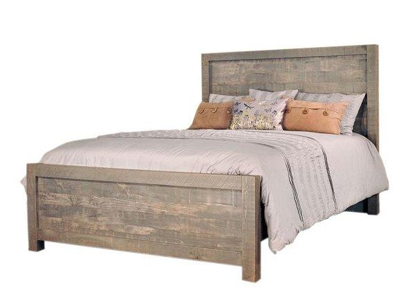 Ruff Sawn Meta Sequoia Bed
