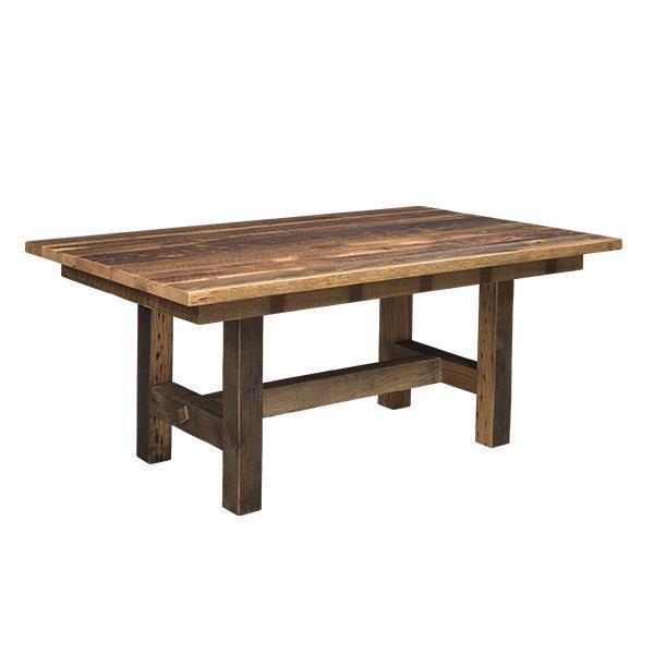 Reclaimed Oak Barnwood Table From, Oak Barn Furniture
