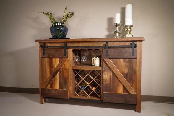 Sliding Barn Door Buffet From Dutchcrafters Amish Furniture