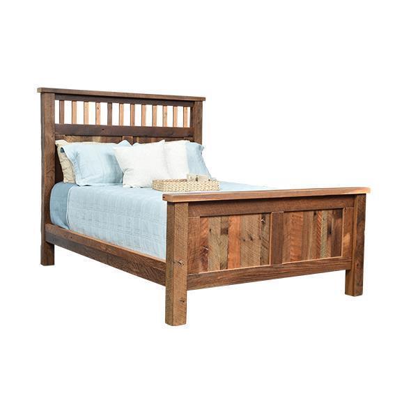 Reclaimed Barnwood Savannah Bed