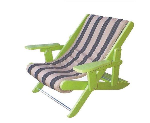 Amish Folding Poly Adirondack Sling Chair