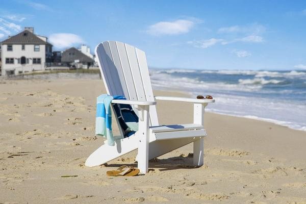 White Poly Adirondack Chair