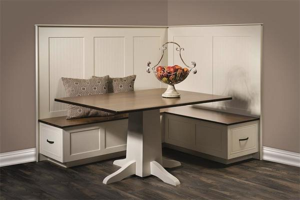 South Haven Kitchen Nook By Dutchcrafters Amish Furniture