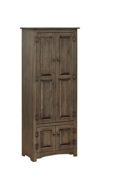 Amish Pine Linen Cupboard