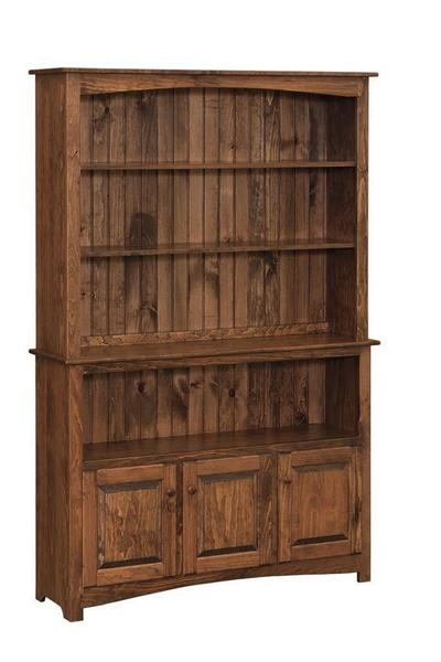 Astounding Amish Pine Buffet And Open Hutch Top 2 Pieces Home Interior And Landscaping Ologienasavecom
