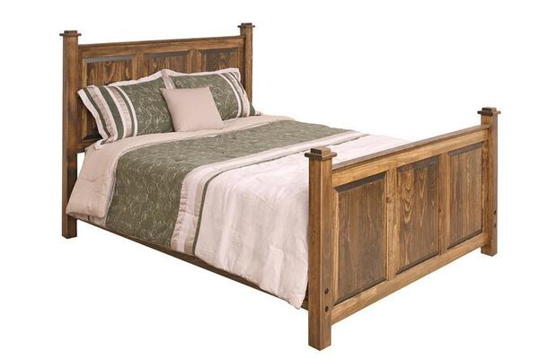 Amish Pine Shaker Bed