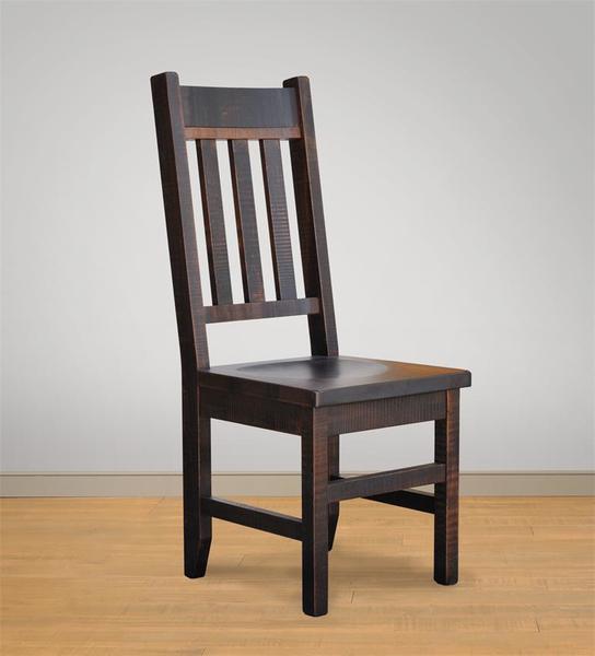 Amish Ruff Sawn Muskoka Dining Chair