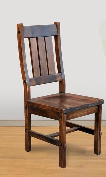 Timber Amish Dining Chair from Ruff Sawn
