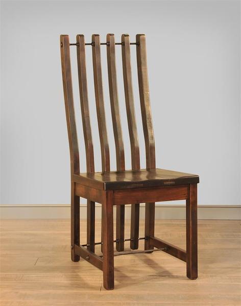 Ruff Sawn Turnbuckle Dining Chair