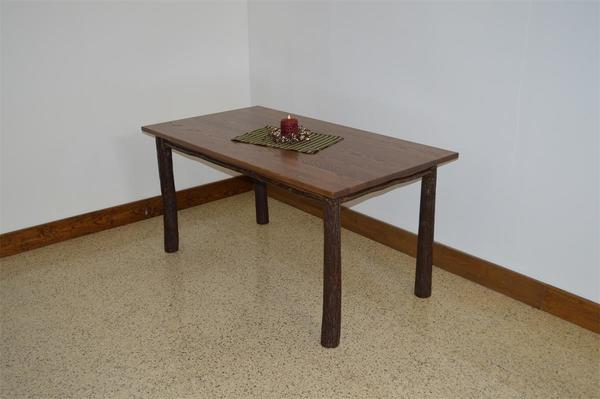 Amish Hickory Farm Table
