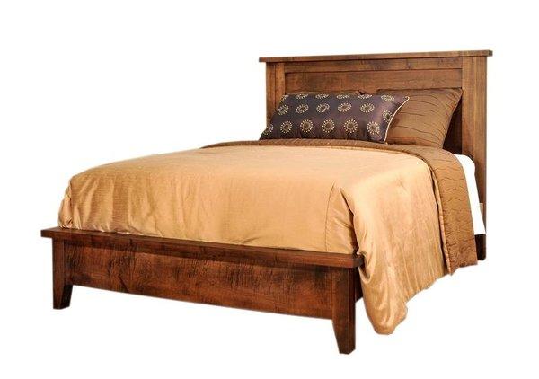 Ruff Sawn Farmhouse Shaker Bed