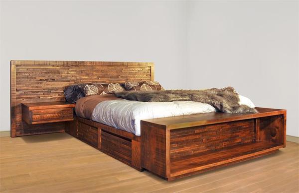 Ruff Sawn Ledge Rock Bed