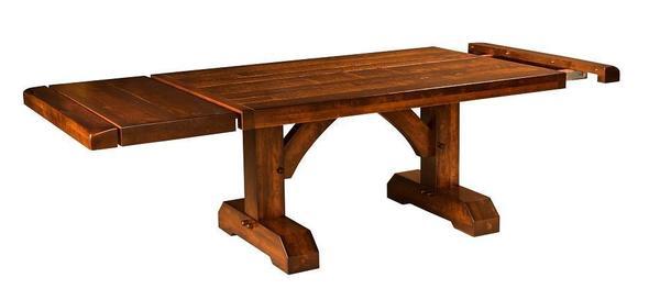Amish Reagan Trestle Table