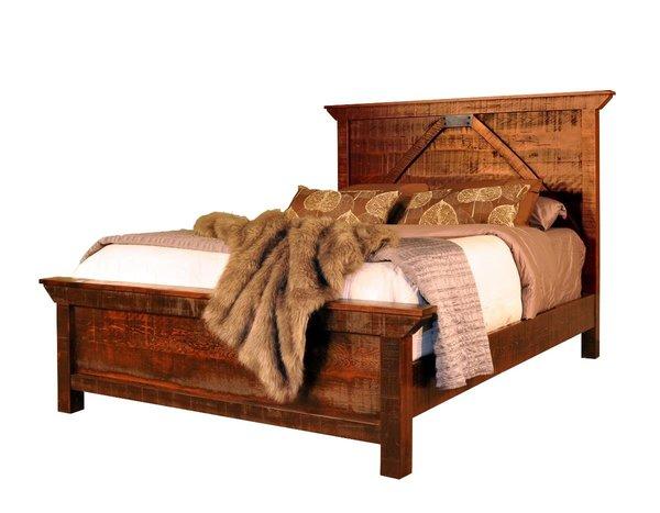 Ruff Sawn Rustic Carlisle Bed