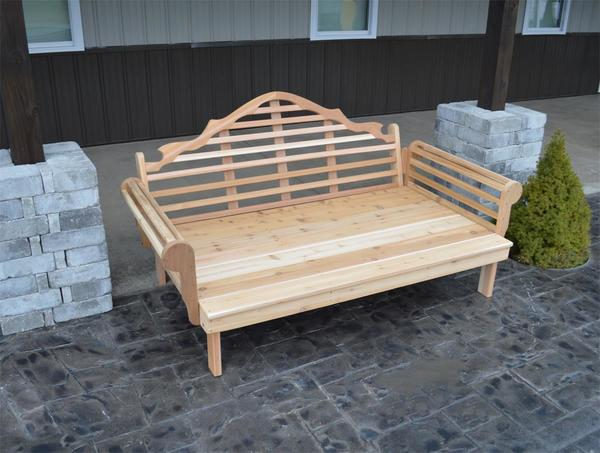 Cedar Marlboro Outdoor Daybed By Dutchcrafters Amish Furniture