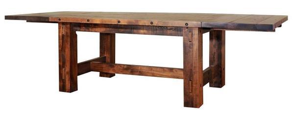 Ruff Sawn Timber Dining Table