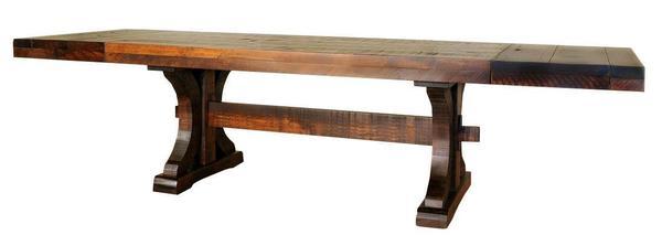 Ruff Sawn Rustic Carlisle Dining Table