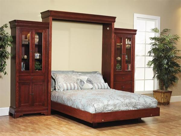 Louis Phillipe Amish Murphy Wall Bed From Dutchcrafters