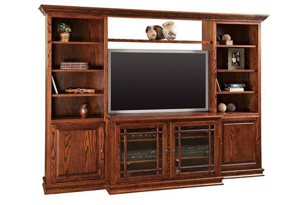 Amish Jason Heritage Wall Unit
