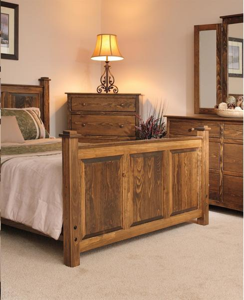 Wood Pine Bedroom Furniture From