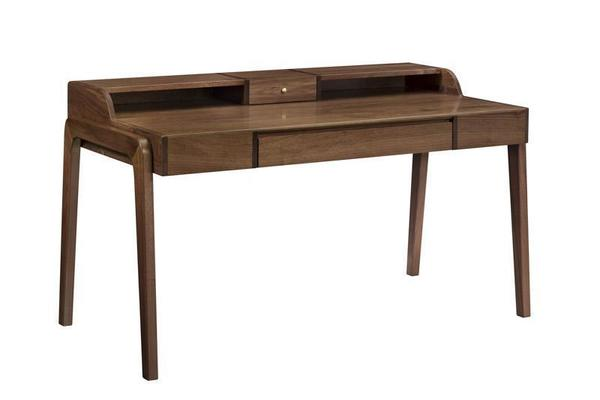 Amish Mid Century Modern Bergen Writing Desk - Keystone Collection