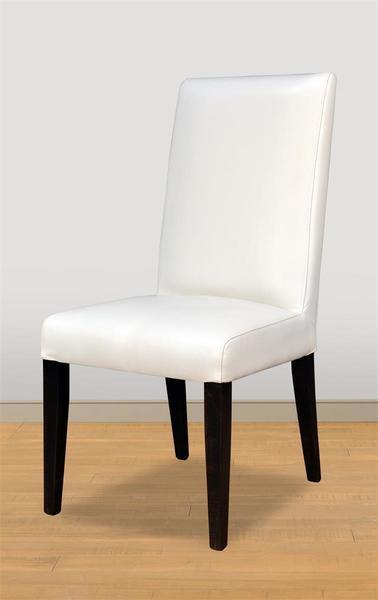 Ruff Sawn Tuxedo Parsons Dining Chair