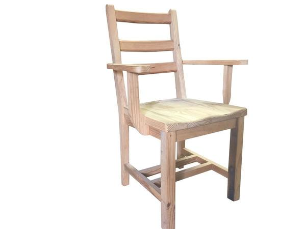 Amish Reclaimed Old Wood Plank Dining Chairs