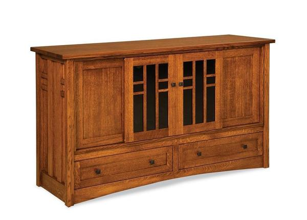 """Amish 63"""" Kascade Mission TV Stand"""