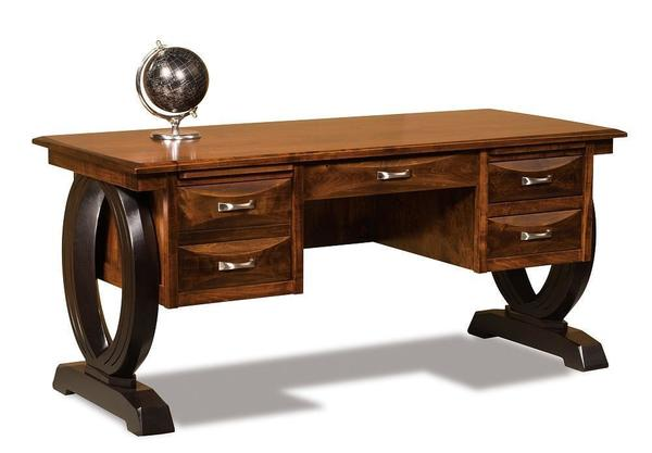 Amish Saratoga Solid Wood Writing Desk