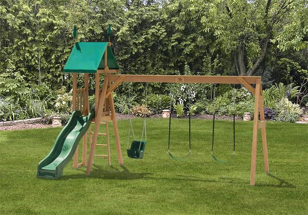 Play Mor Summer Night Swing Set
