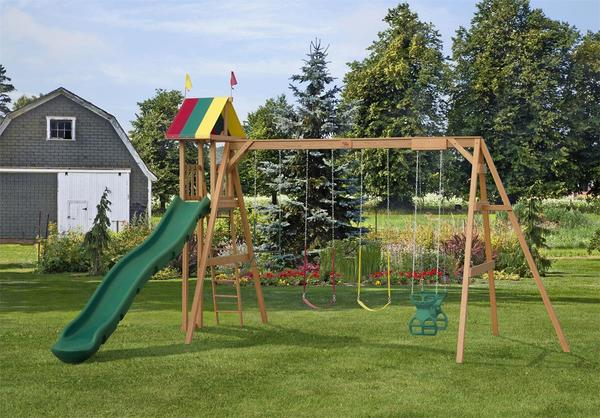 Play Mor Summer Highlight Swing Set