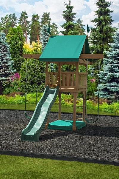 Play Mor Happy Space Saver Swing Set