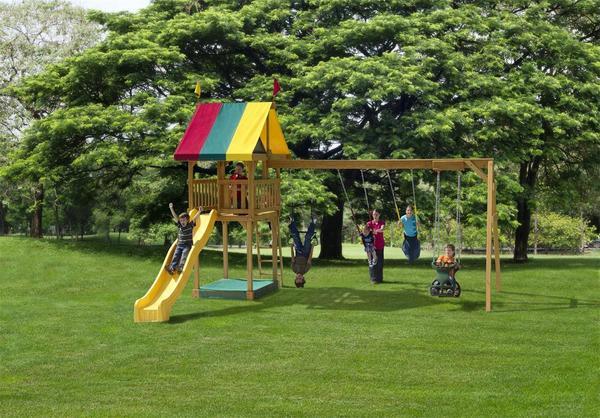 Play Mor Family Favorite Swing Set