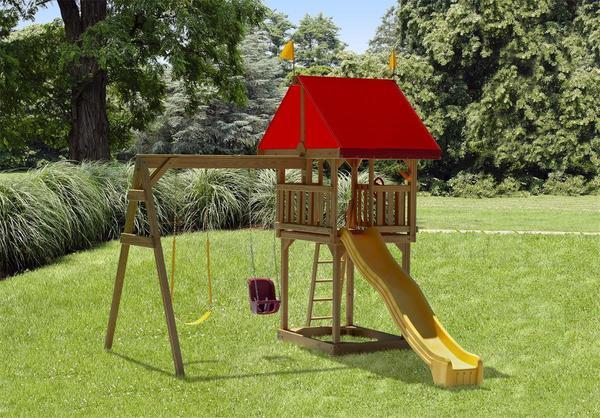 Play Mor Tiny Treasure Swing Set