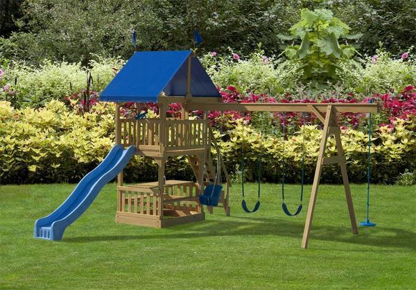Play Mor Jolly Fun Swing Set