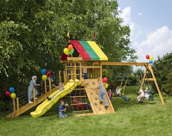 Play Mor Scenic Pointe Swing Set