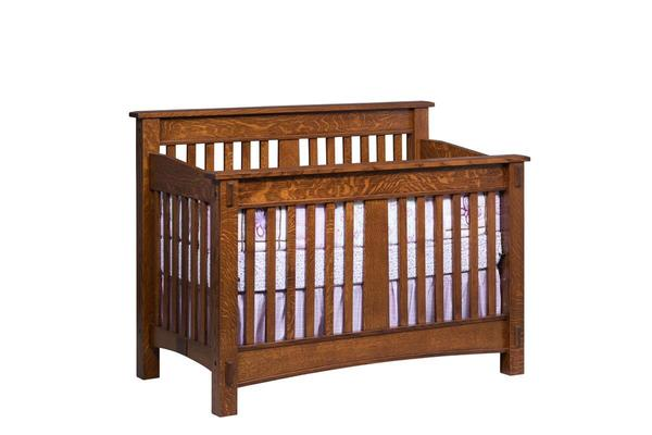 San Marino Amish Made Convertible Crib
