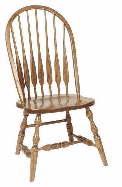 Amish Feather High Windsor Chair