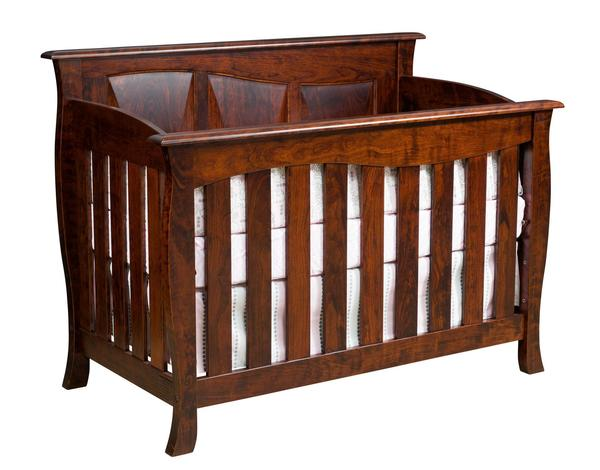 Amish Cayman Slat Convertible Crib