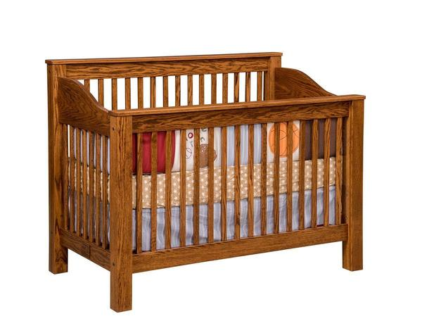 Amish Mission Convertible Crib