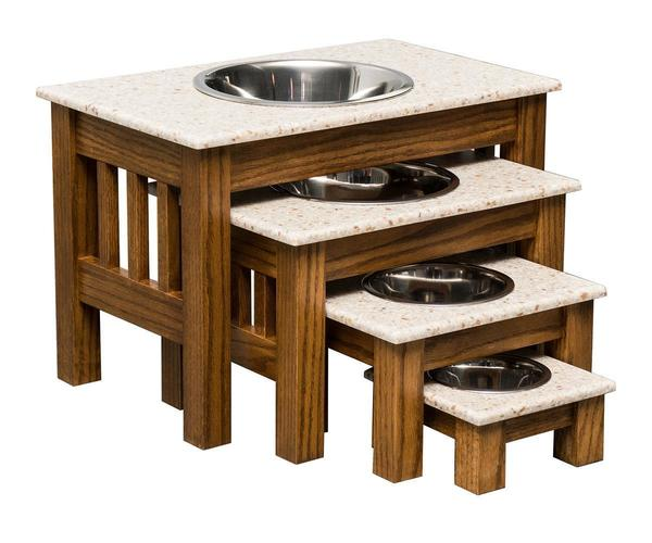 Elevated Single Dog Bowl