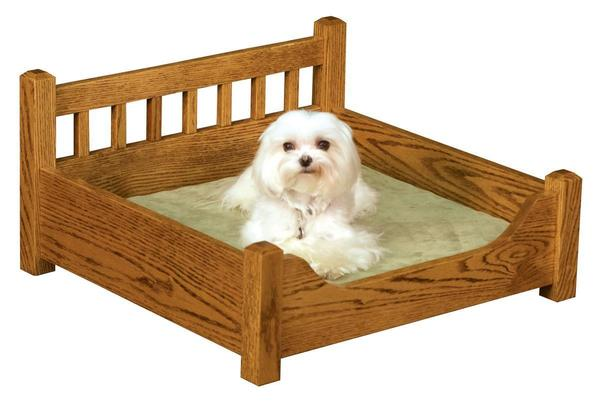 Amish Wood Pet Bed