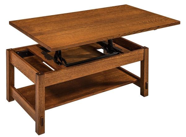 Amish Springhill Lift-Top Coffee Table