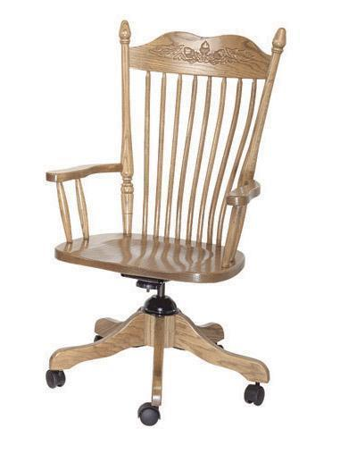 Amish Lancaster Desk Chair