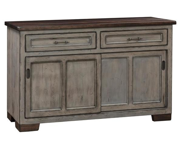 Amish Hudson Buffet with Sliding Doors