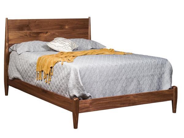 Amish Kirtland Modern Panel Bed