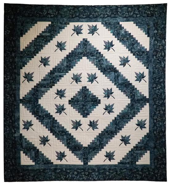 Colorado Star Log Cabin Quilt From Dutchcrafters Amish
