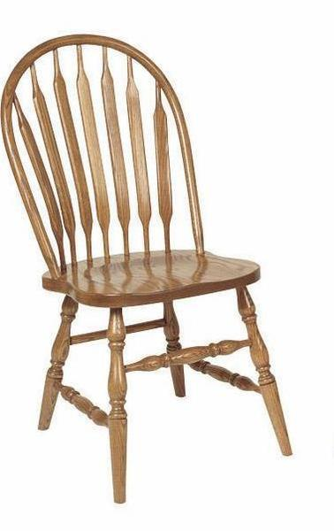 Amish DE Bent Low Windsor Dining Chair