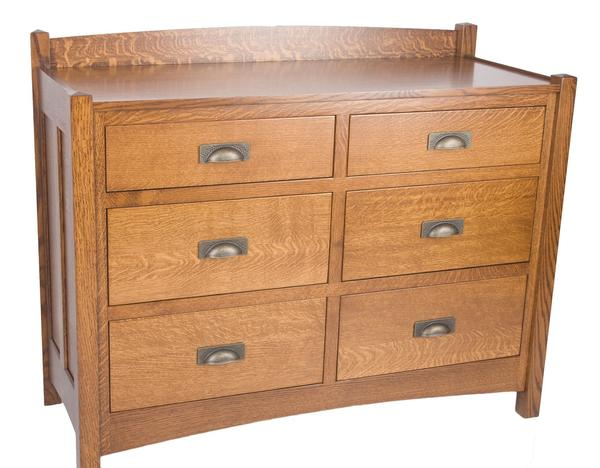 "Amish Crafters Mission 48"" Dresser"