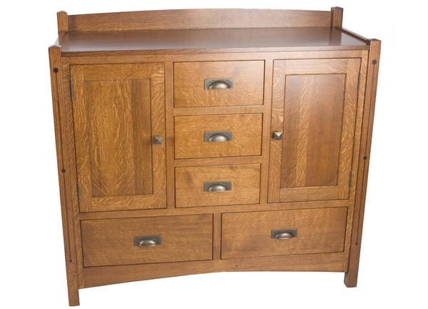 Amish Crafters Mission Unity Dresser
